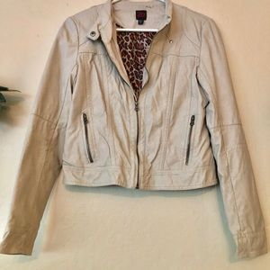 Bebe faux leather jacket